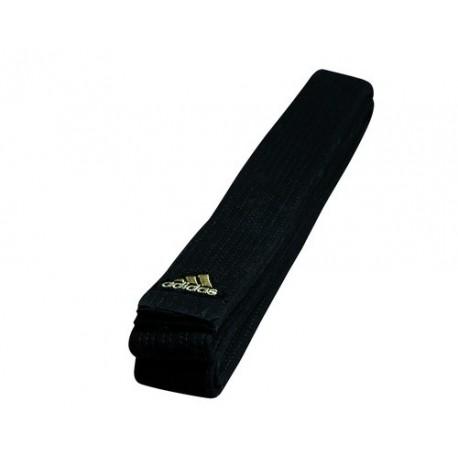 Ceinture noire Adidas champion - broderie OR