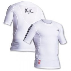 Tee-shirt BUDO blanc ADIDAS