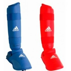 Protections tibias-pieds Adidas WKF