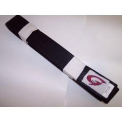 Ceinture noire Gill Sports satinée