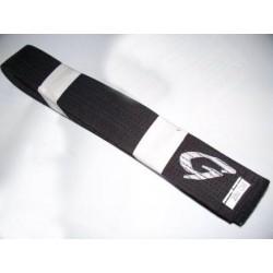 Ceinture noire Gill Sports coton New LOGO