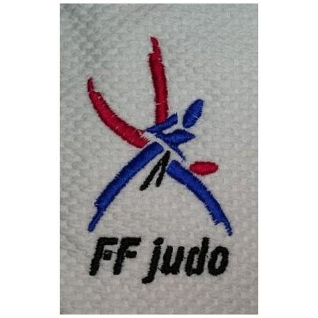 Broderie logo FFJUDO