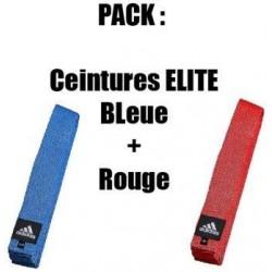 Pack Ceintures Elite Adidas