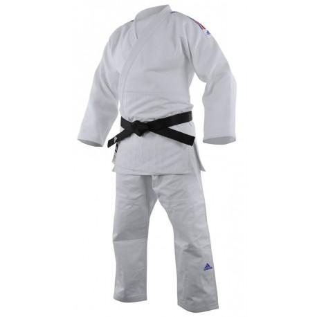 Judogi Adidas CHAMPION II - IJF - Bandes tricolores