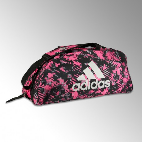 Sac de sport Adidas CAMO Rose
