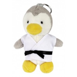Porte clés peluche en kimono PINGOUIN