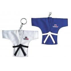 Porte clés veste kimono blanc