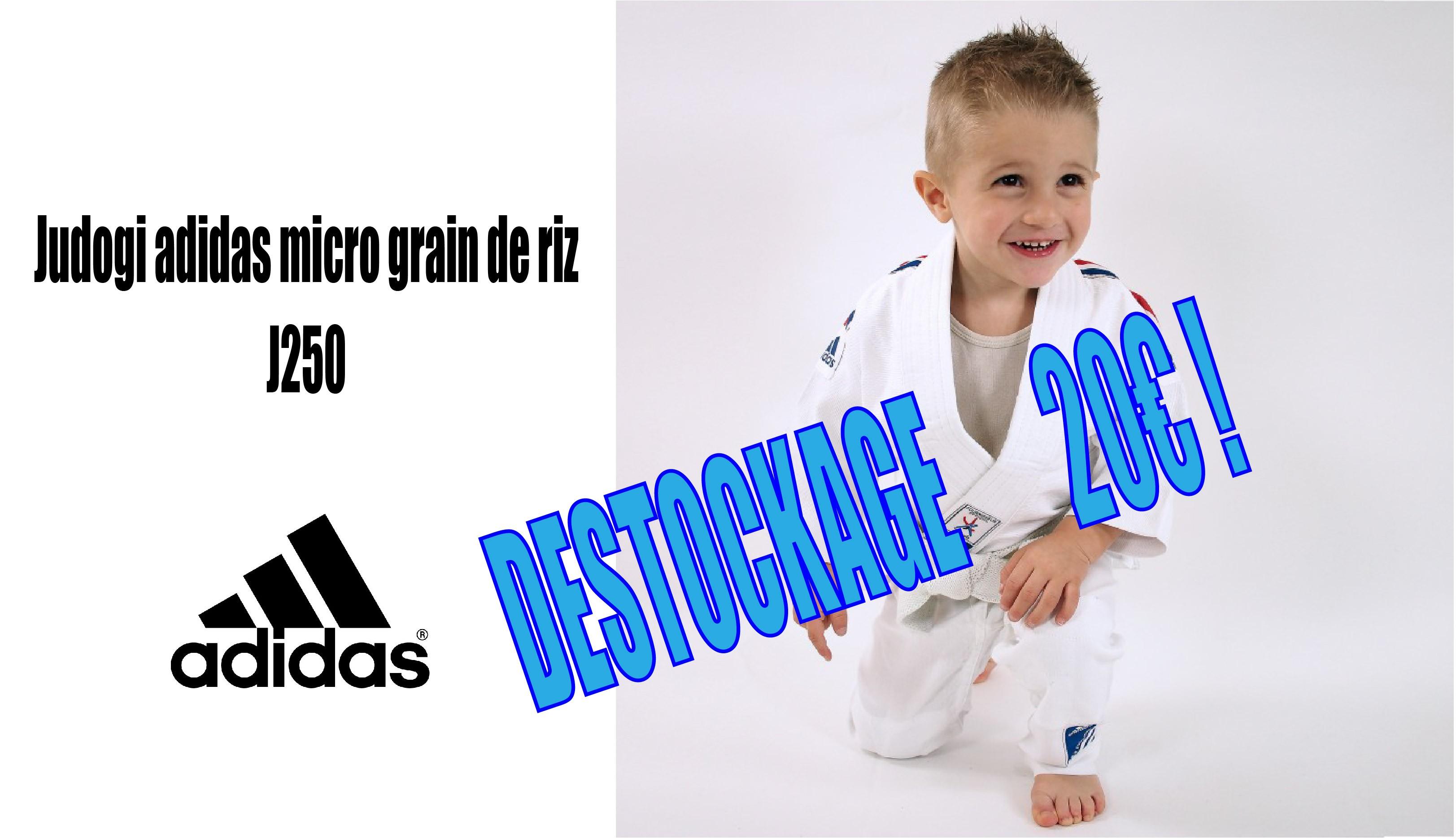 Judogi J250 à 20 €