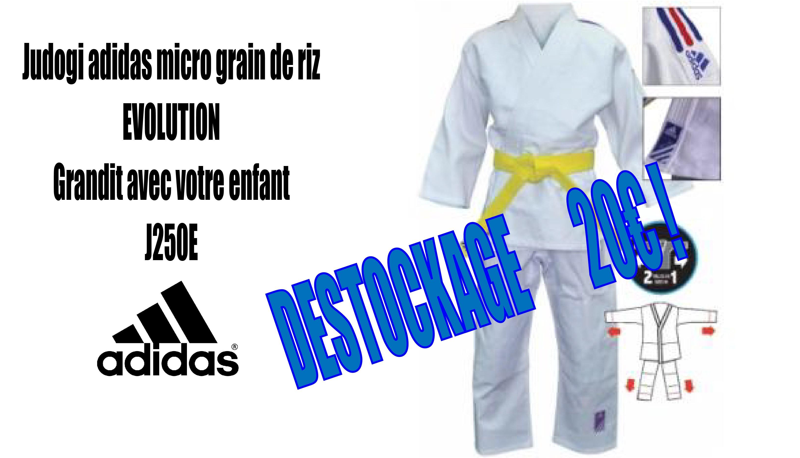 Judogi J250E à 20 €