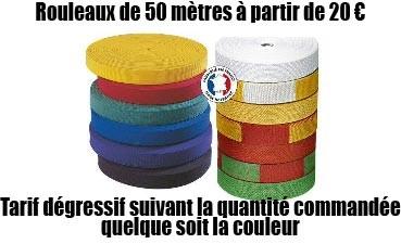 Nos rouleaux de 50 m Judo - Fabriqués en France